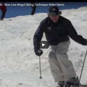 How To Ski Moguls – Blue Line Mogul Skiing Technique Video Demo